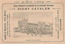 135 años de Vichy Catalan / 135 años de historia avalan nuestra trayectoria. Aquí pretendemos mostrar algunas imágenes de este siglo y pico de vida.
