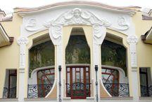 Фасадный декор (варианты оформления лепниной)