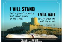 Stand and Wait - Verses / As a watchman, I have a fascination with castles - and wouldn't you know it, there are a ton of public domain images of castles just waiting to be paired with Scripture. Share these and help promote the Stand and Wait website while encouraging your friends and family.