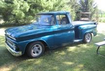 1963 Chevy Trucks / by Tina Winn