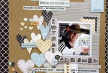 Scrap book pages