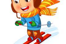 Zimné športy,oblečenie