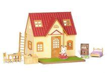 Sylvanian Families Przytulny Domek Wiejski - Zestaw Startowy / Wyjątkowe zabawki dla dzieci marki Sylvanian Families