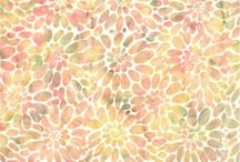 MirahZ / New batik fabric line -- Stunning fabric for art quilts and all your projects. Available at Material Mart and www.materialmart.com / by Material Mart