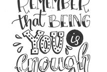 ℋandlettering Quotes ♡