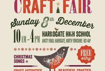 Christmas market poster inspo
