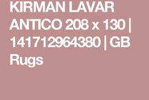 KIRMAN LAVAR ANTICO 208 x 130 | 141712964380 | GB Rugs
