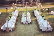 Backyard Wedding / Helping those small budgets create a grand vision for your small backyard wedding!