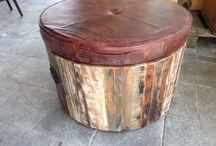 Stoere meubels van robuust hout en metaal / Te koop bij MarktplaatsHelper Hilversum