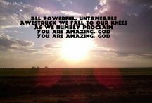 Almighty and awesome God / God is AWESOME