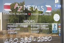 Our Metal Business / AZ Metals in Mesa, AZ