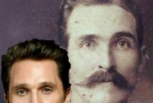 Celebs and their historical doppelagangers