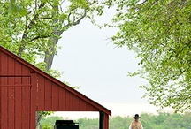 Garages and outbuildings / by Ellen Behan-Heinbockel