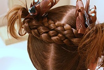 cute little kids hair dues  / by Paige Winegar