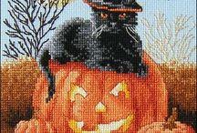 Cross Stich Halloween