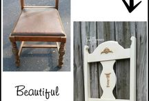 Repurposed & Upcycled / Taking one thing and making another!