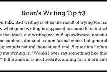 Writing Tips and Tricks / by Desiree Leal
