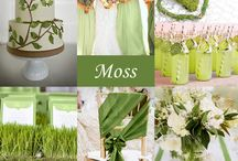Green Wedding Colours