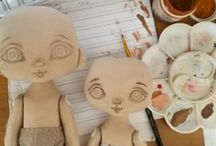 malování očí panenky