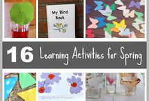 Spring Activities / Fun things for you and your little to do during the spring time!