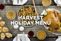 Harvest Holiday Menu