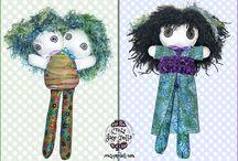 Crazy Jane Dolls
