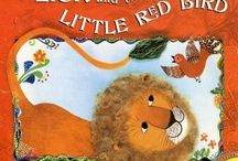 book nook: The Lion and the Little Red Bird