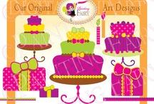 Happy Birthday! - pink & purple
