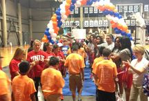 Rebels Give Back / Community Service • Rebel Family / by UNLV Athletics