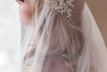 Bridal Etheral Veil Portraits