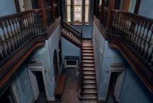Old Interiors and Exteriors