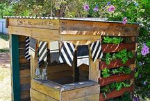 Cubby houses/backyard ideas