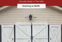 White Wash Barn Door Ideas