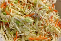 Sweet and tangy Coke slaw