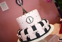 Festa Paris / Festa para uma garotinha de 7 anos que adora tudo relacionado a moda, nas cores rosa e preto.