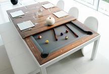 Juegos y mesas.