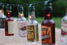 DIY String Lights / Turn those tiny little Christmas string lights into fun lighting you can use all year. Personalize your backyard lights or add a touch of charm indoors. PartyLights.com carries a wide arraying of string lights ... everything from mini Christmas lights to LED to globe lights. / by PartyLights.com