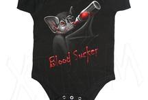 Ropa para Bebé Rockera, Heavy y Gótica / Ropita para bebés gótica, rockera y heavy en XTREM