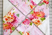 Quilt blocks / Different ways to make quilt squares
