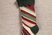 Karácsonyi zokni - csizma