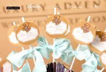 Marturii Lollypops pentru botez | Shop online / by Eventure Central Store | Toni Malloni, Event Designer & Corina Matei, Graphic Designer www.c-store.ro | www.eventure.com.ro | www.eventina.ro