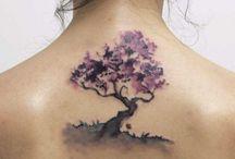 Tetování strom