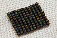 Техники плетения и вышивания.