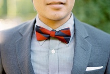 { bow ties groom }