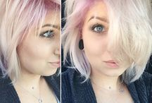 Rose Quartz hair - Pantone Color of the Year 2016 hair trends / Pantone Color of the Year 2016 hair trends - all shades of Rose Quartz to inspire your pastel pink hair.