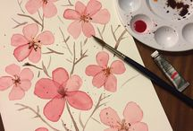 Watercolor Art by Mel Armstrong