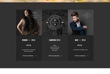 Web design / Inspirational and design websites