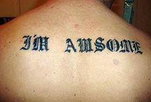 Tatuaggi sbagliati! / Quando un errore dura per sempre... oppure no?