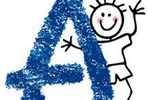 ABC KIDS VI / Abecedario de Muñecos Palito