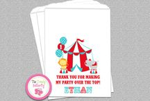 Circus themed party